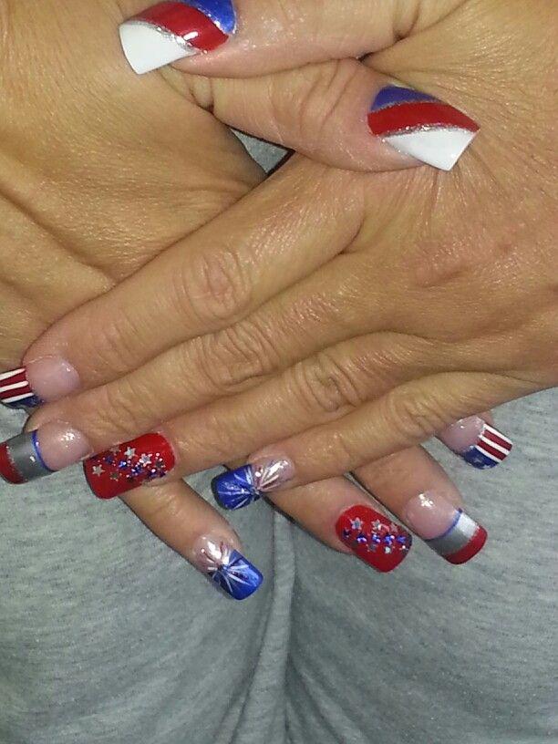 memorial day nail designs