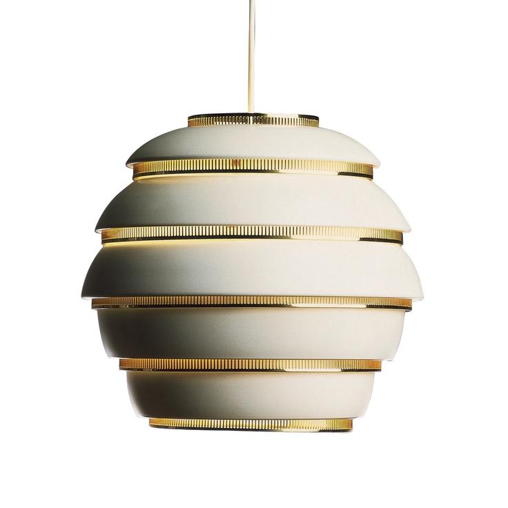 Beehive lamp by Alvar Aalto