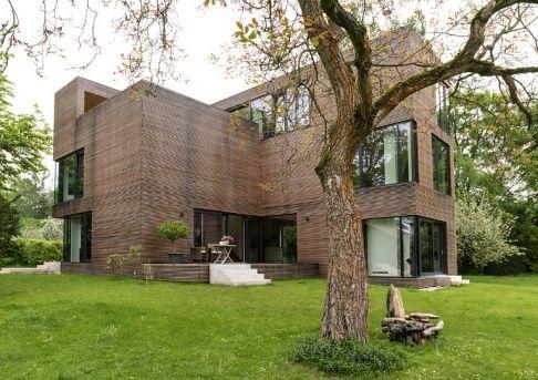 3. Preis: Moderne Villa mit Lärchenholzfassade - Haus des Jahres 2013 - [SCHÖNER WOHNEN]