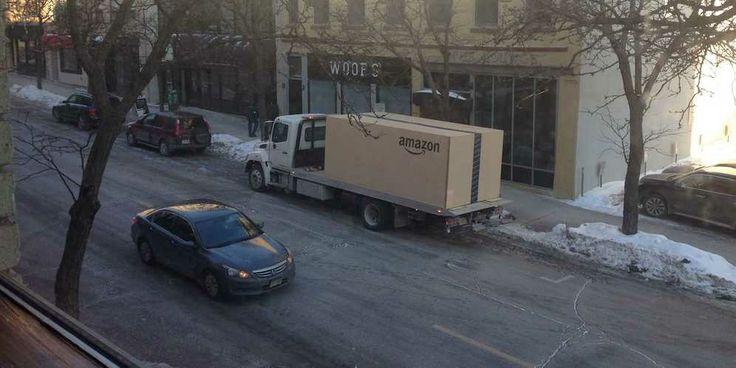 A Gigantic Amazon Box
