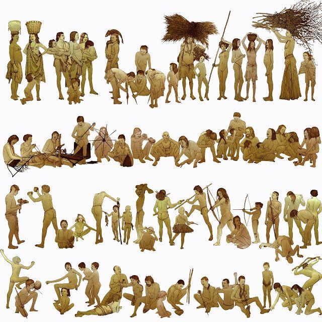 grupo humano, clan prehistoria