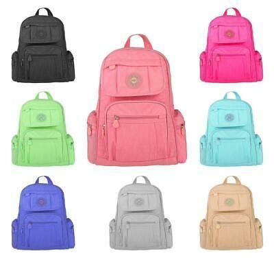 Photo of LADIES City Backpack Shoulder Bag Sport Travel School Daypack Leisure Backpack …