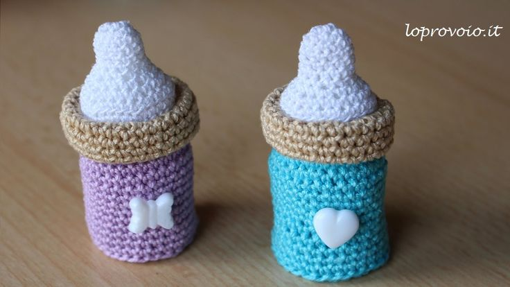 crochet tutorial for baby bottle ♥