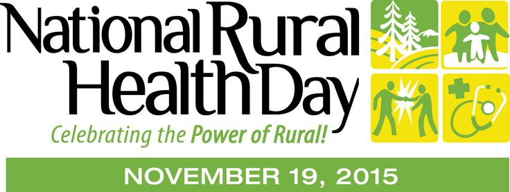 The National Organization of State Offices of Rural sets aside the third Thursday of every November – November 19th, 2015 – to celebrate National Rural Health Day.