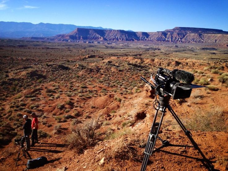 #virgin #utah #filming #Redbull's #LifeBehindBars with #JustinWoodcock and the #raptorcam crew. #rcheli #Sony #FS700 #RED