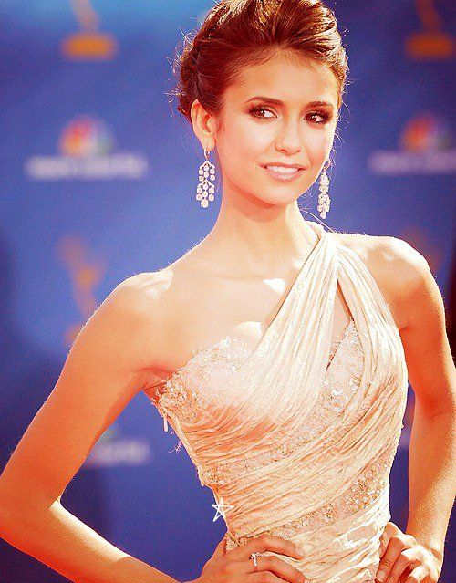 Nina Dobrev. She's so pretty!
