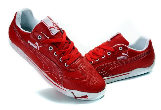 Outlet Store Online shoes puma schumacher red white p1226 / output South Dakota
