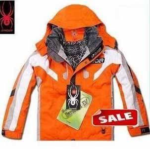 Spyder Kids Ski Wear Dark Orange