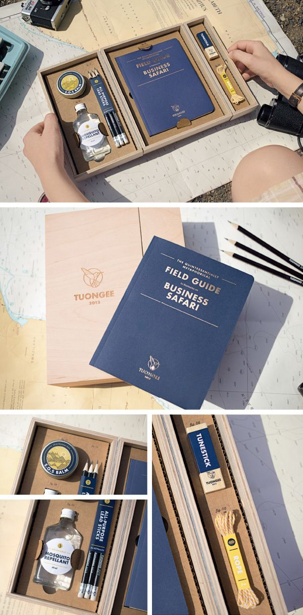 The Quintessentially Metaphorical Tuongee Survival Kit by Machine Agency, via Behance