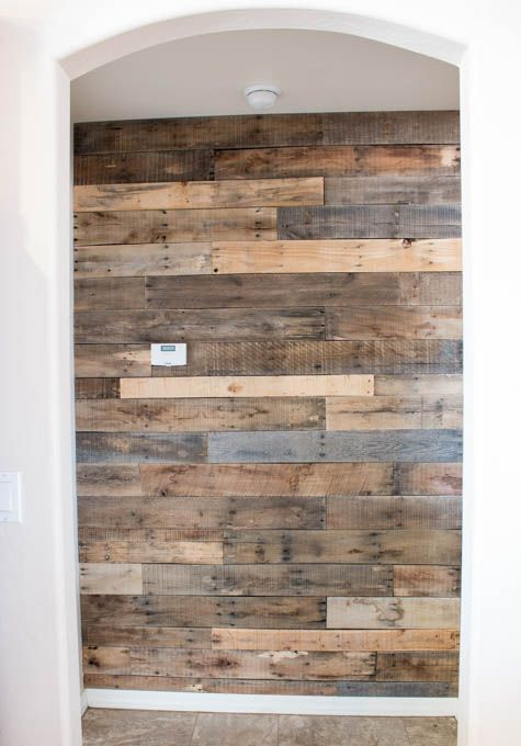1000 ideas about pallet walls on pinterest pallets. Black Bedroom Furniture Sets. Home Design Ideas