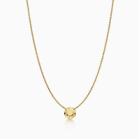 Elsa Peretti® One Carat pendant in 18k gold | Tiffany