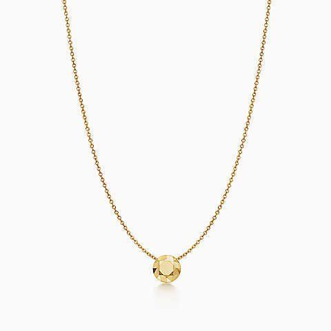 Elsa Peretti® One Carat pendant in 18k gold | Tiffany