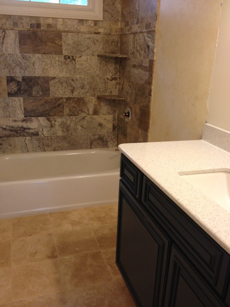 Almost Finished Teen Boys Bathroom Incorporating Bella