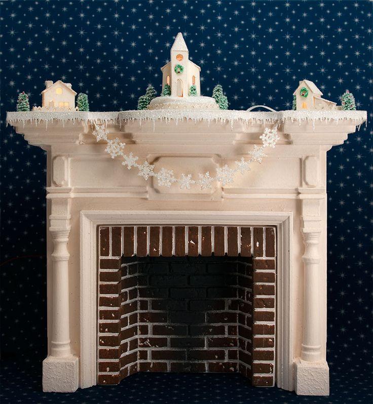 Dollhouse Miniatures Tutorials: 115 Best Images About DOLLHOUSE FIREPLACES On Pinterest