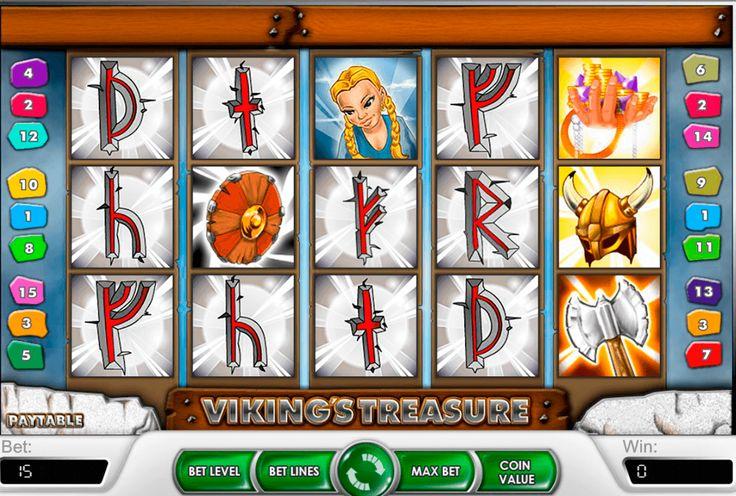 Olettko viikingin jälkeläisen? Jos on sitten kokeile #NetEnt kolikkopeli Vikings Treasure missä historiaa on sekoittanut hasardin pelin, ja löytää oman aarretta!