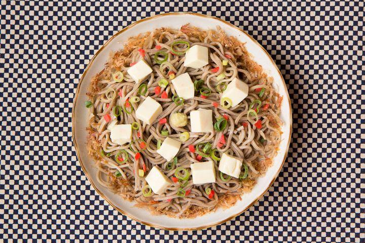 Soba au tofu soyeux © Camille Oger