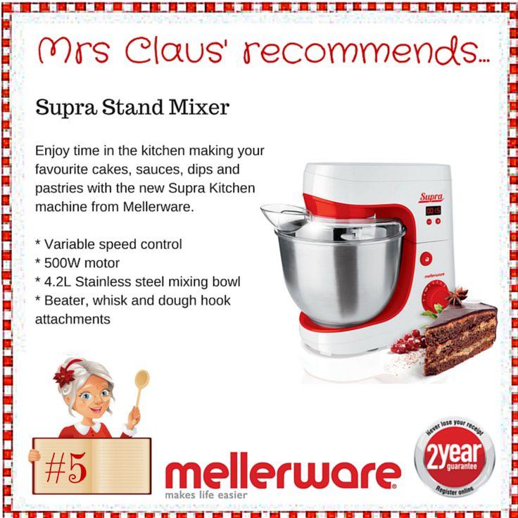 Day 5 - Supra Stand Mixer