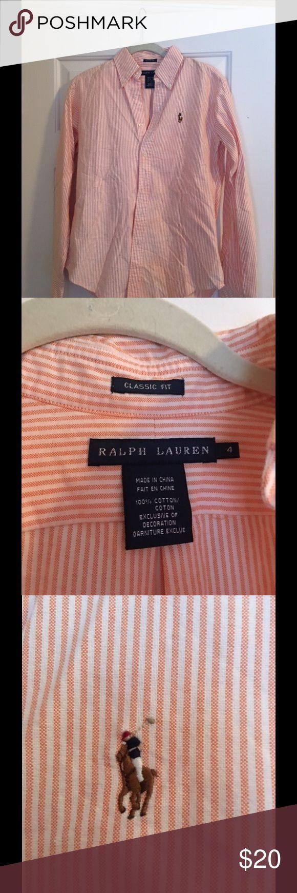 Ralph Lauren Oxford shirt Classic fit size 4 Tops Button Down Shirts