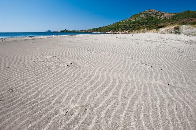 spiaggia di Coacuaddus Sant'antioco