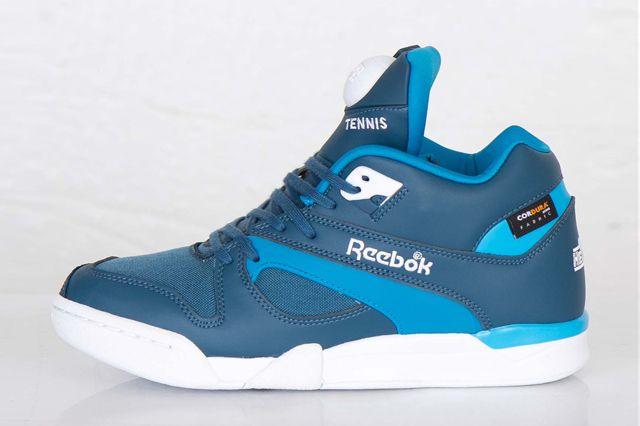 REEBOK COURT VICTORY PUMP CORDURA (BOMB BLUE) | Sneaker Freaker