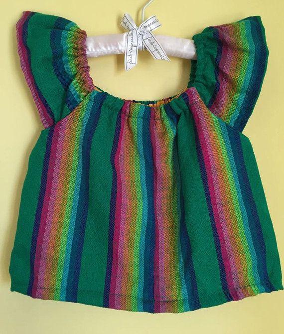 Día de fiesta mexicana de niño Cambaya blusa por Miamorcitocorazon