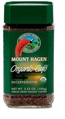 Mount Hagen Organic Freeze Dried Instant Decaffeinated Coffee, 3.53-Ounce Jars (Pack of 6) ( Value Bulk Multi-pack) -- To view further for this article, visit the image link.