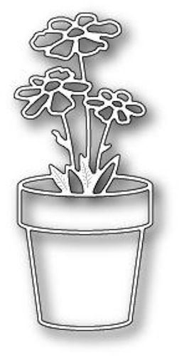 Memory Box Dies - Fancy Potted Flower
