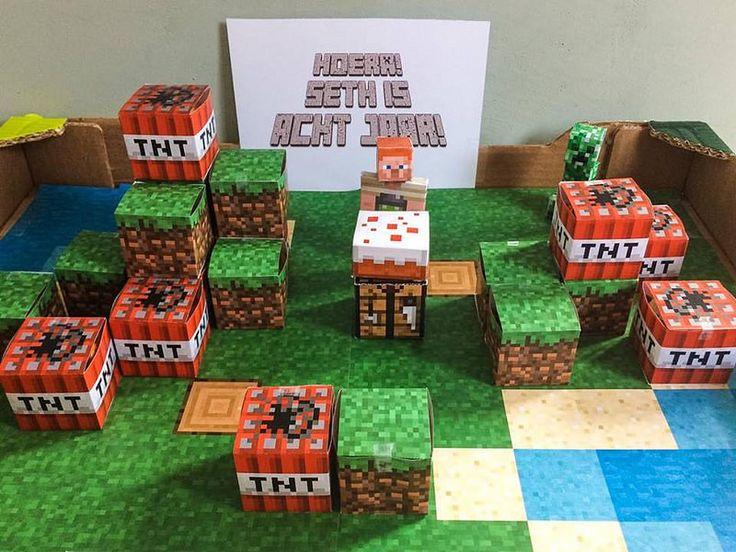 25 Beste Idee 235 N Over Minecraft Verjaardag Op Pinterest