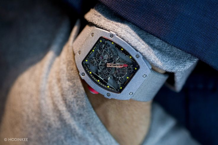 Hands-On: With The Incredible Richard Mille RM27-01 Rafa Nadal