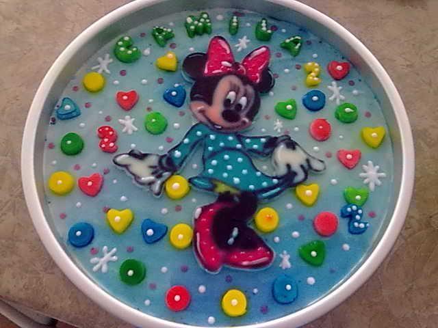 Gelatina Minnie Mouse