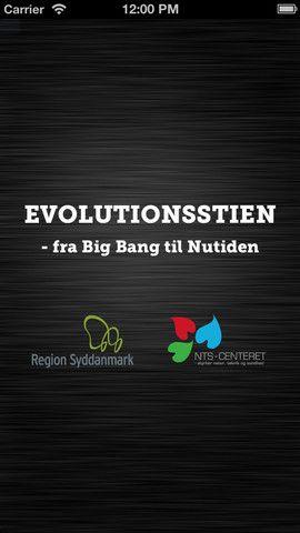 Evolutionstien er gratis og lavet til 1.g elever. På appstores side, kan man finde link til lektionsplan og lærervejledning.
