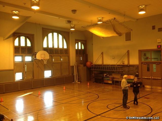 The Gymnatorium At Golda Meir Elementary Fourth Street School Built In 1890
