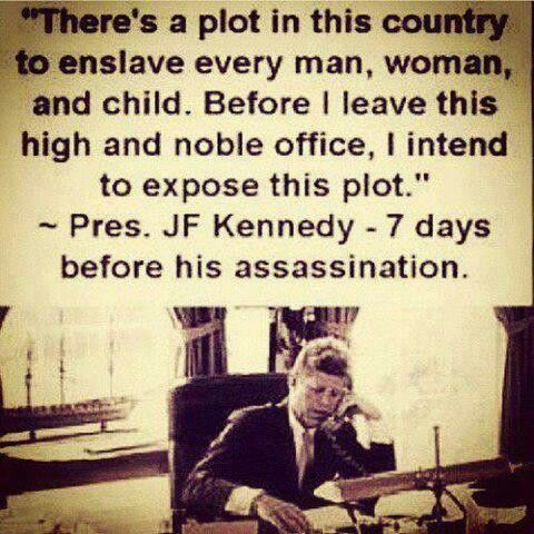 Very very interesting.....not sure if this is true but certainly plausible considering his assassination.
