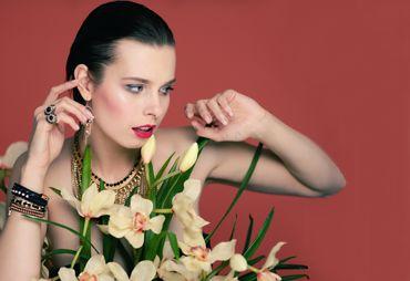 Kwitnąca biżuteria