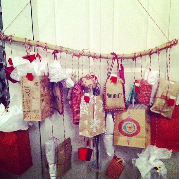 Advent Calendar Ideas Boyfriend : Homemade advent calendar for loved ones boyfriend