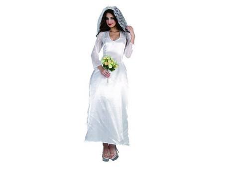 Adult Bride  Includes: Dress, Headpiece