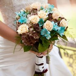 There's something about turquoise wedding details...they ROCK! And this rustic California wedding is FULL of them!