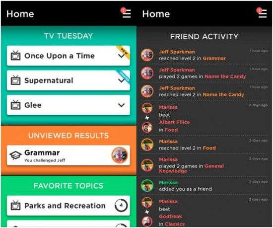 Quizup is a trivia game for iOS and Android that tests the knowledge of the world geography, cooking, quotes and hundreds of other topics. Developers have point out that there are actually four hundred and thirty topics.
