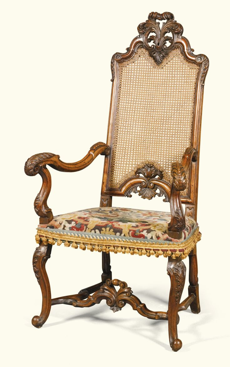 Antique furniture styles - An Anglo Dutch Carved Walnut Armchair Circa 1720 In The Manner Of Daniel Marot Antique Chairsantique