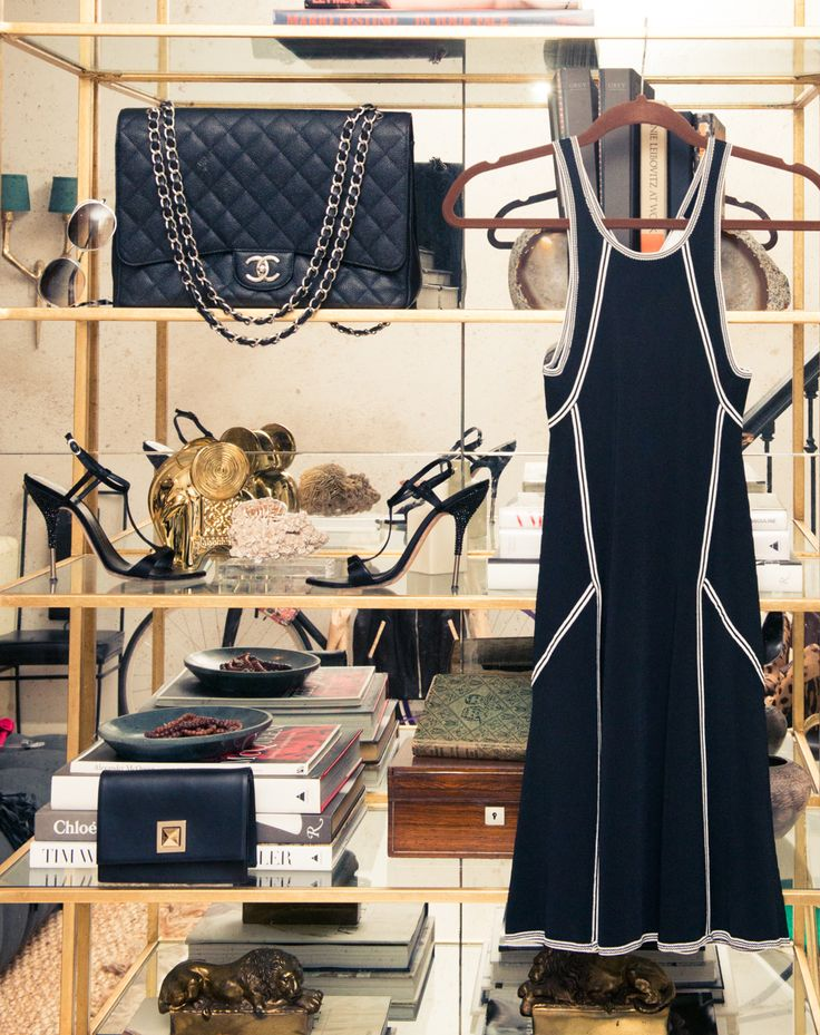 """[If I could trade closets with anyone, it would be] """"Audrey Hepburn. Her influence and style are timeless. She exuberated elegance and grace in everything that she wore."""" http://www.thecoveteur.com/karlie-kloss-model/"""