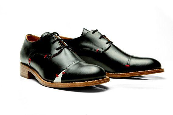 Handgemaakte oxford schoenen/vrouwen oxford schoenen/Womens appartementen/Handmade appartementen/Elegant lederen Appartement/Flat schoenen/Casual schoenen/comfortabele schoenen /-woningen