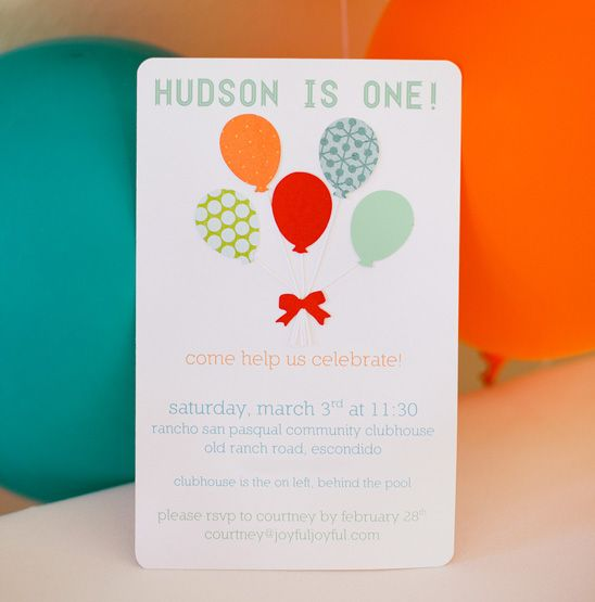 Cute balloon ideas: grape skewers, tomatoes and pretzels, love the balloon birthday banner