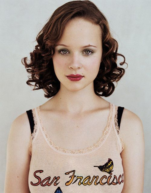 Thora Birch. I love this photo.