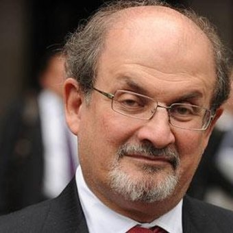Salman Rushdie talking about the fatwa - and Australia. http://www.abc.net.au/local/stories/2012/10/08/3606247.htm