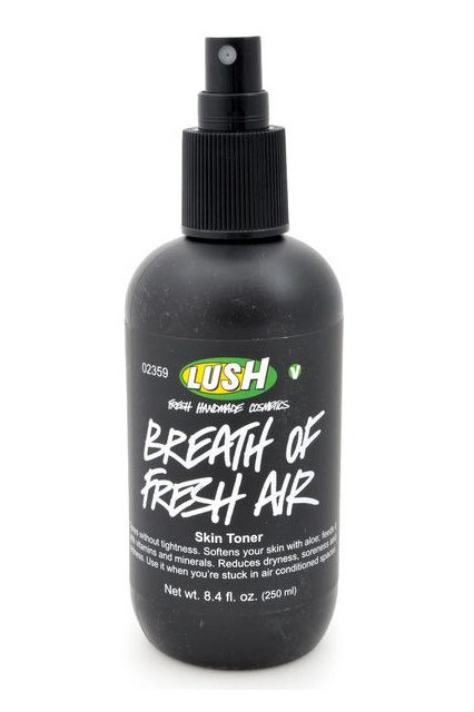 Talk about an appropriate name. Lush's aloe-, seaweed-, and rose-infused toner is exactly what your face needs for an instant refresh.  Lush...