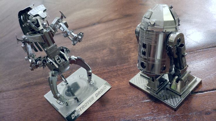 star wars metal miniatura