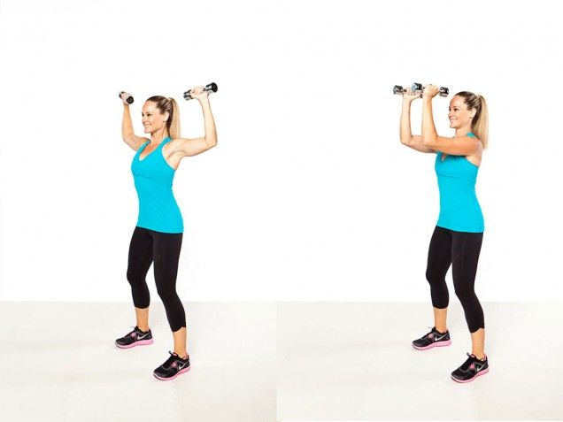 Elbow Kiss exercise- This involves spreading out your arms ...