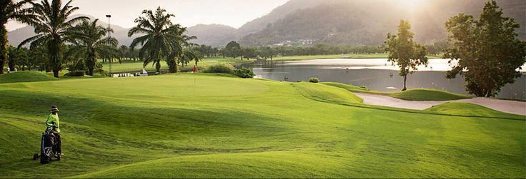 Nestled below a range of mountainous peaks, the course is designed around Crystal Lake, the largest in Phuket covering some 48 acres.