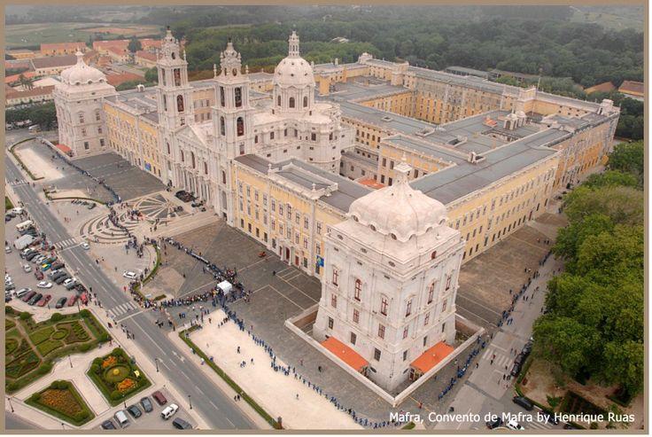 Palacio Nacional de Mafra, Mafra, Portugal!