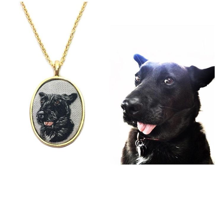 """Thimble Thistle (@thimblethistle) on Instagram: """"Pet pendants are perfect way to take a memento of your unique pup wherever you go. How sweet is…"""""""
